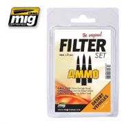 FILTER SET FOR DESERT VEHICLES<br> A.MIG-7451